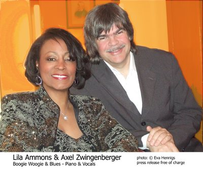 Axel Zwingenberger meets Lila Ammons
