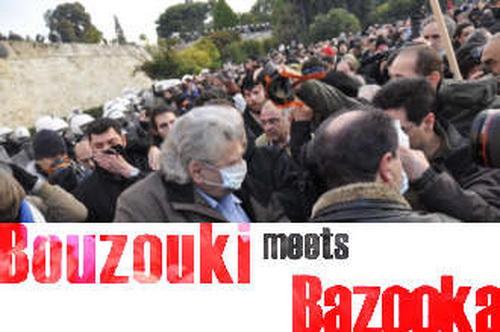 Bouzouki meets Bazooka