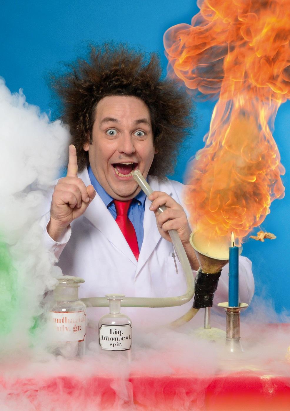 Wenn's stinkt und kracht ist's Wissenschaft