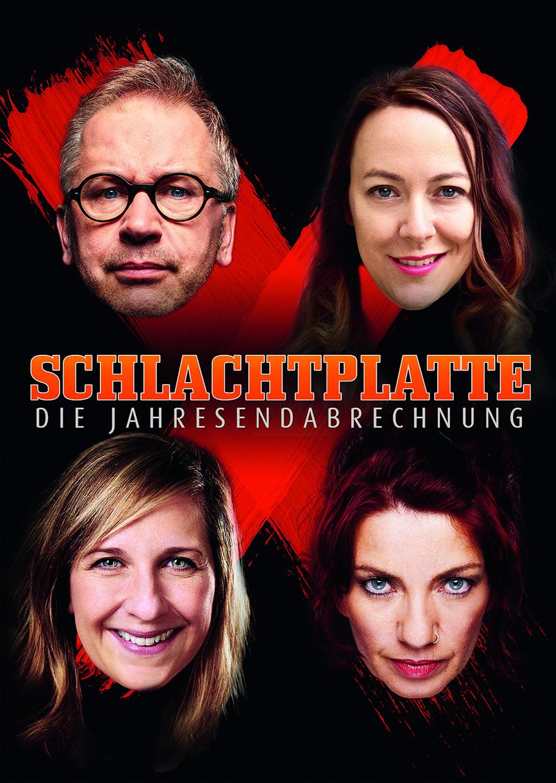 Schlachtplatte XIII. - mit Lisa Catena, Sarah Hakenberg, Dagmar Schönleber und Robert Griess