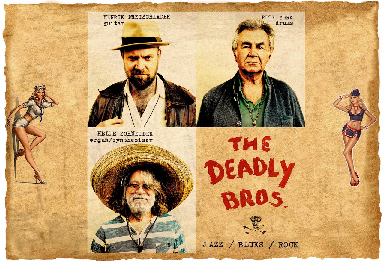 mit Helge Schneider and »The deadly Bros.«-project